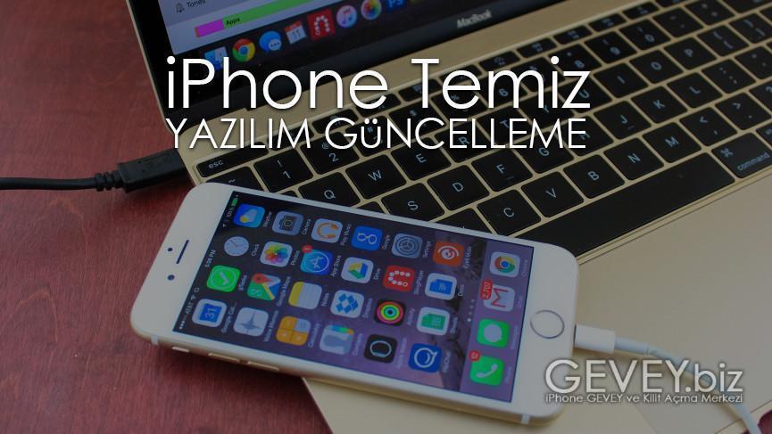 iPhone 7 Kurtarma Modu ve DFU Moda Nasıl Alınır