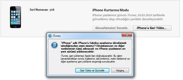 Apple müşteri hizmetleri